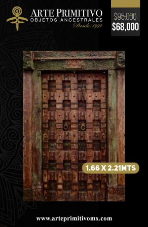Diseño Arte Primitivo - Puertas 17-min